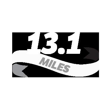 Log a half marathon