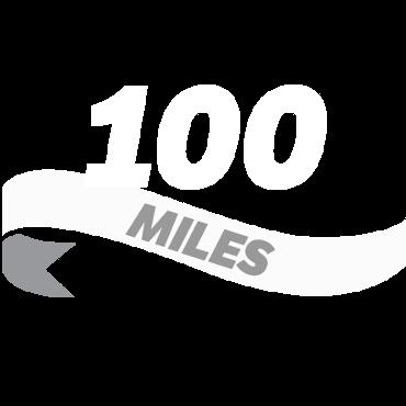 Log a hundred miles