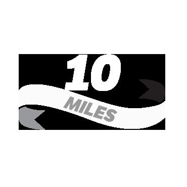 Log a ten miles