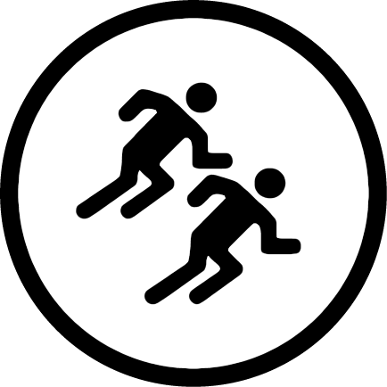 Group run badge