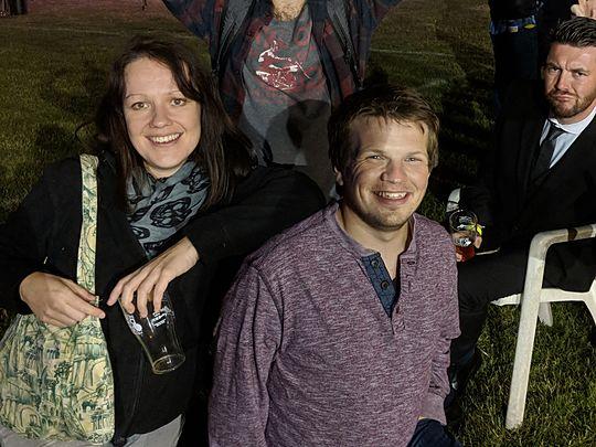Bus-ting some moves at the Poppleton Beer Festival