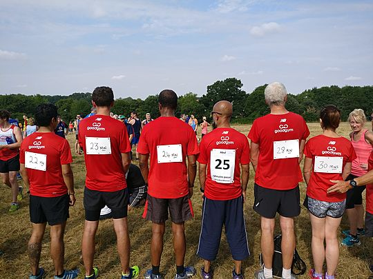 2nd Goodgym takeover at Braunstone Park Run