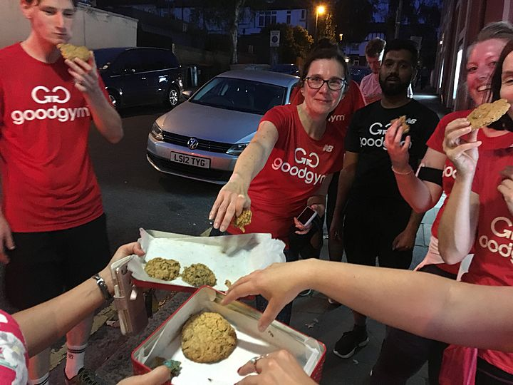 Goodgym barnet - refuse to give up on Ally Pally hill