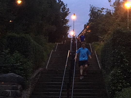 Hills and stairs and people that care!