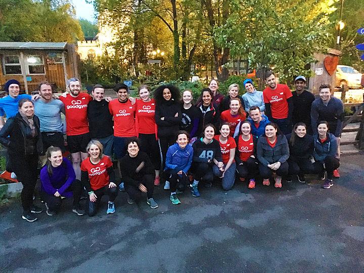 Group run photo