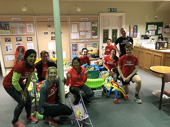 Don't throw your toys out of the pram - GoodGym is here!
