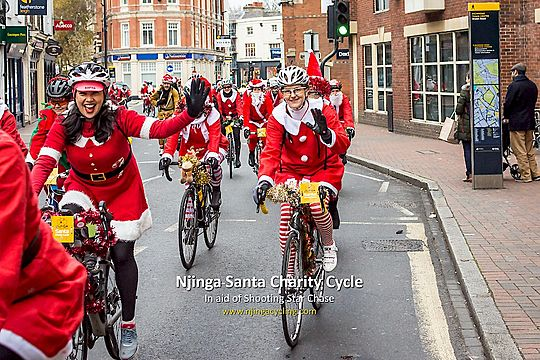 6th Annual Santa Charity Cycle in South West London 6f454b8c8