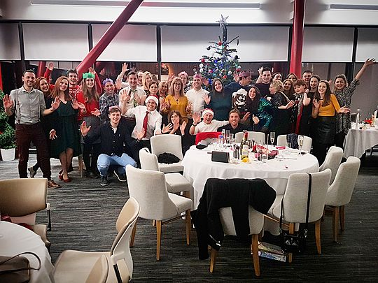 Brace your elves... It's the GoodGym Cardiff and Vale Christmas party!
