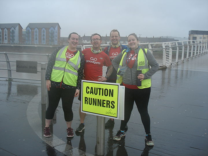 A GoodGym First... Making good happen in Newport!!