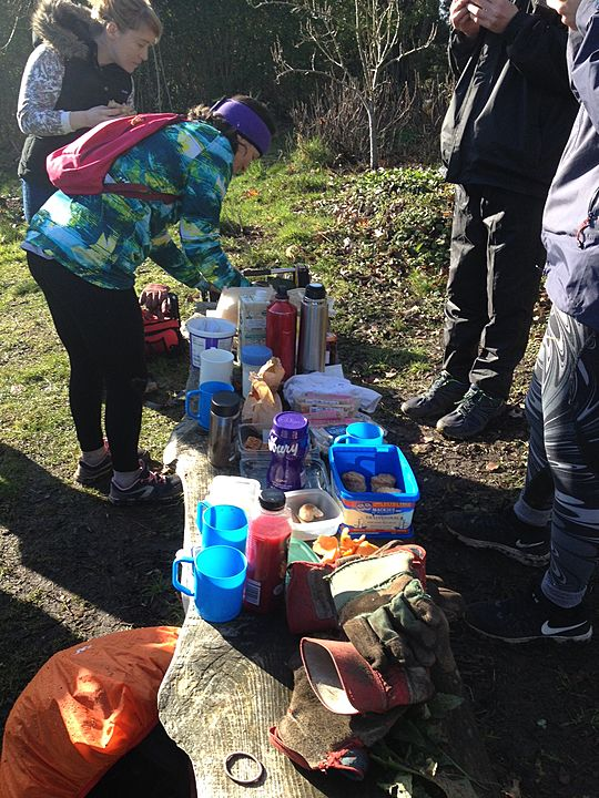 Winter Woodland Weeding - Our 1st Parkwood Forest Garden GG community mission complete! :)