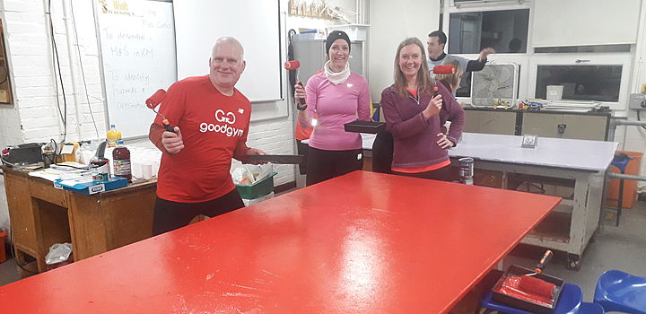 Hilly Intervals &  Bench Freshing - That's Goodgym Gloss Training!