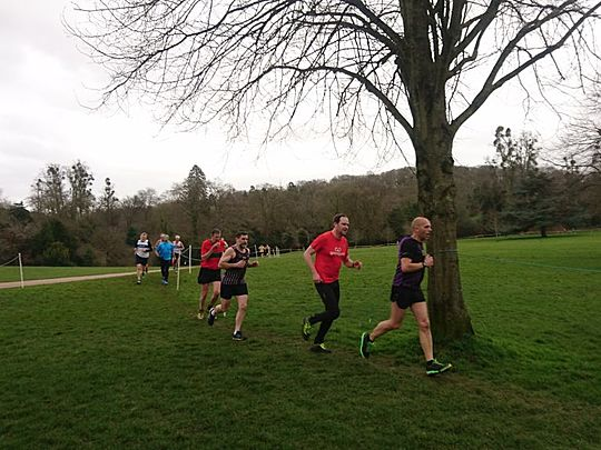 Cross Country fun at Blaise Castle