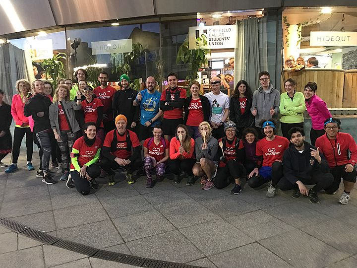 GoodGym x Earth Hour - Big Spon, little spoon, post it in the box...