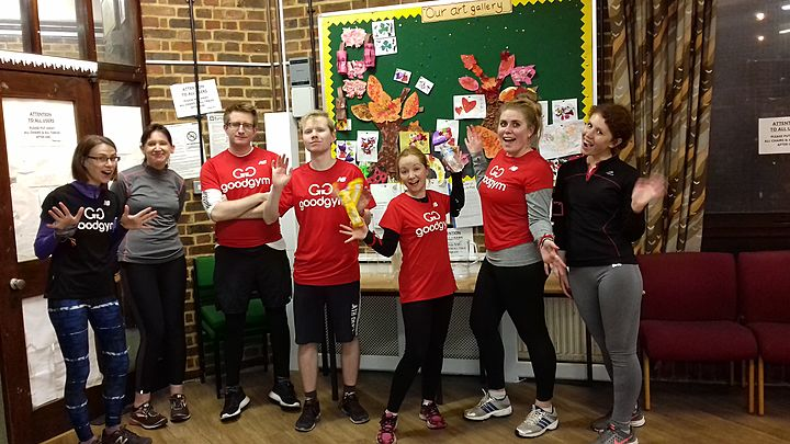 GoodGym x Earth Hour - Newington Green Alliance: red leaders, standing by