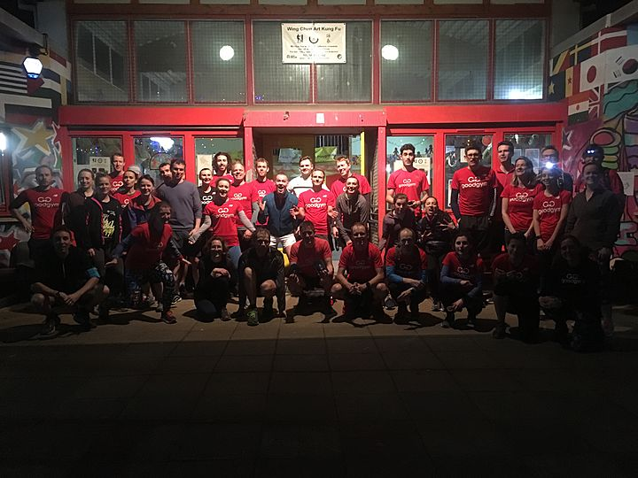GoodGym x Earth Hour - Not just Zdeni-one can skip their way to a centurion