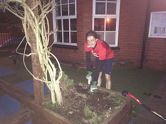 GoodGym X Earth Hour - Back to school to garden, tidy and act the fool