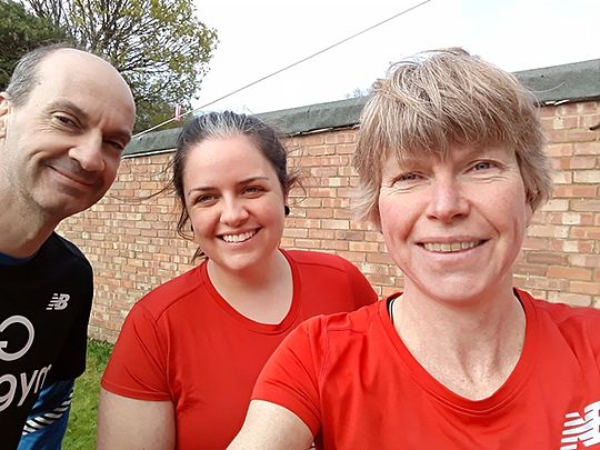 Three GoodGymers went to mow... (aka It's a lot less bovver with a hover)