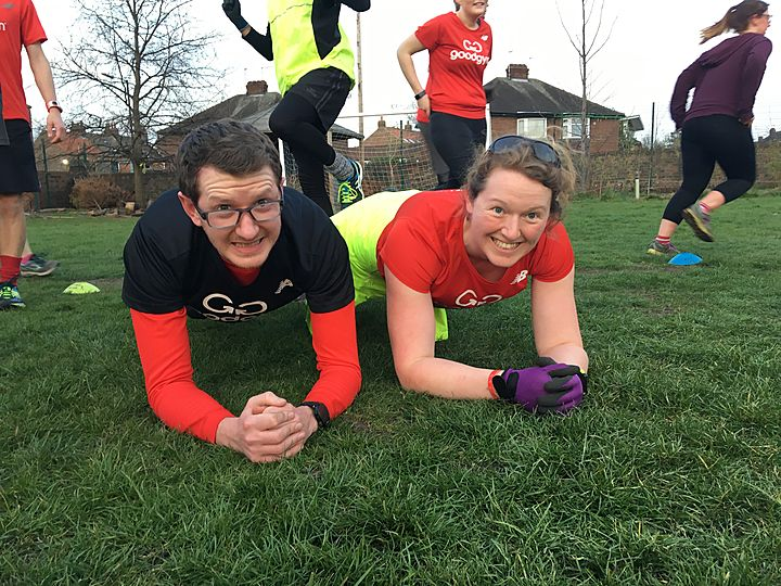 Weave decided GoodGym will oh-so all lav our daff puns