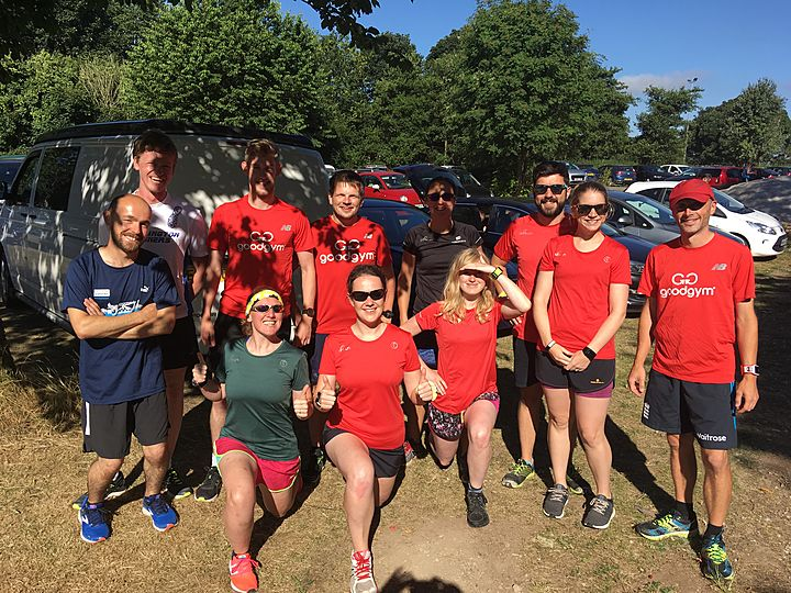 Team trip to the new Knaresborough parkrun