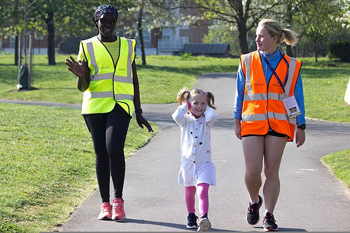 Volunteering at Burgess Junior parkrun