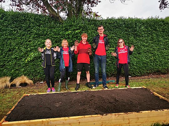 4 tonnes of soil to dig? Just a miner problem for GoodGym