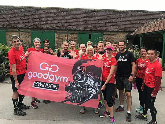 GoodGym x The Great Get Together: Swind-on Tour with Bristol @ Trust10, Tyntesfield!