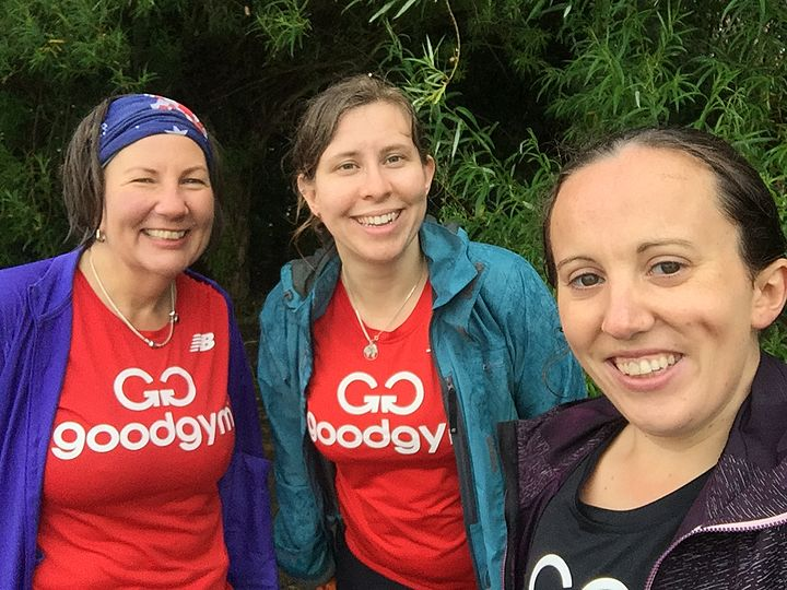 Just Weedin' in the Rain, what a glorious (GoodGym) Feeling!