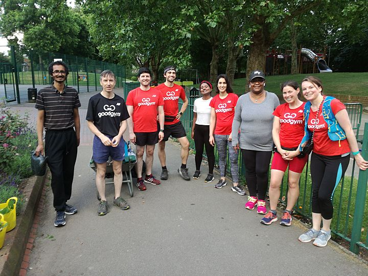 Helping the friends of Queens Park Gardens