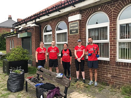 What have we done today to make GoodGym proud?