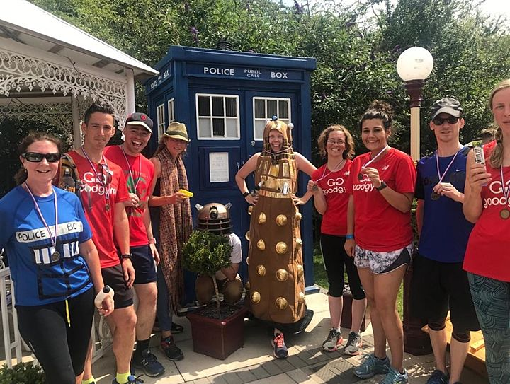 Goodgym 9 do the Tardis 10