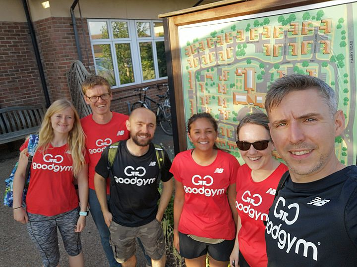 GoodGym get things Rolling