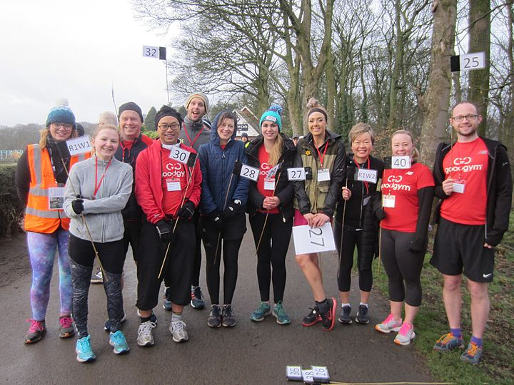 Pacing and Volunteering takeover at Graves parkrun