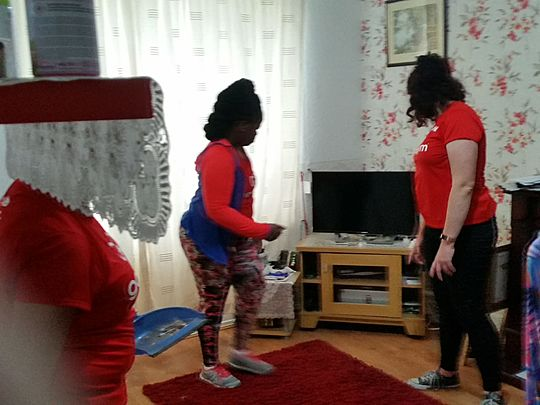 Sofa, so GoodGym : a moving time in Hackney!