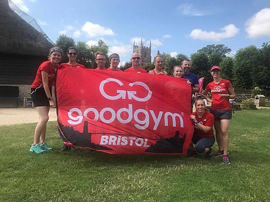 Avebury Trust 10 – GoodGym 'Rocked' It!