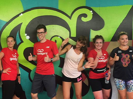 GoodGym Gives You Wings!