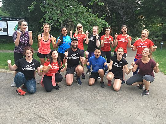 Goodgym barnet prevent injuries with Reike…!