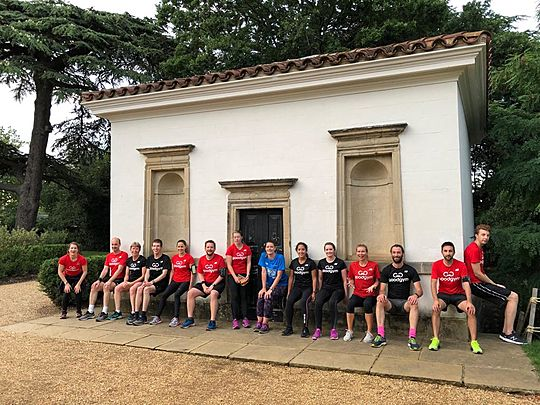 Thistle be the last time GoodGym Hounslow go on the pull!