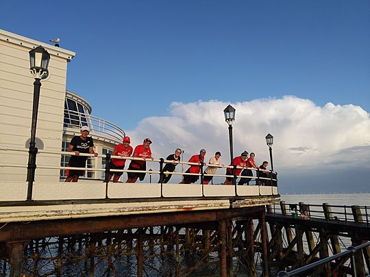Keeping up a pier'ances