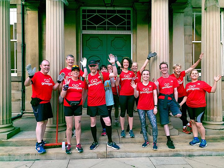 GoodGym Stage a Stunning Performance to Avoid Making a Drama Out of a Weedy Crisis