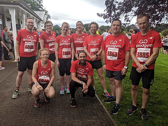 GoodGym Coventry First Outing of the GoodGym tops in Coventry