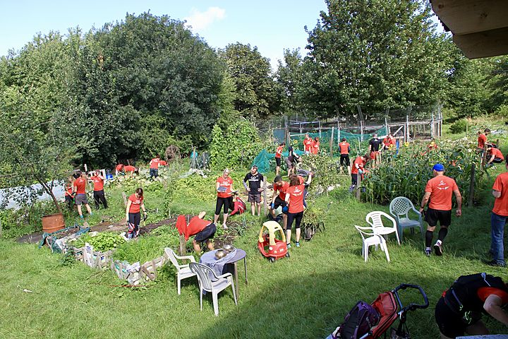 Bramble Hill show performed by GoodGym