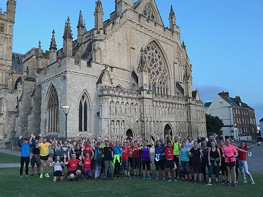Exe-citement and Exe-ercise at Exeter launch!
