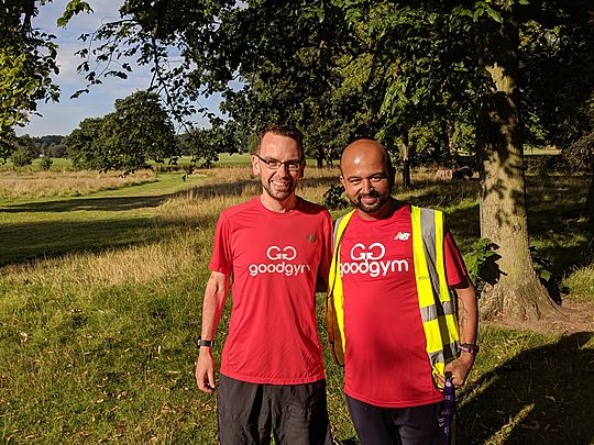 Goodgym in Red for Russell