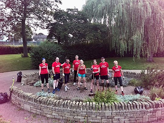 Thyme Flies When You're Having Fun- Another Sub(h)erb GoodGym Effort