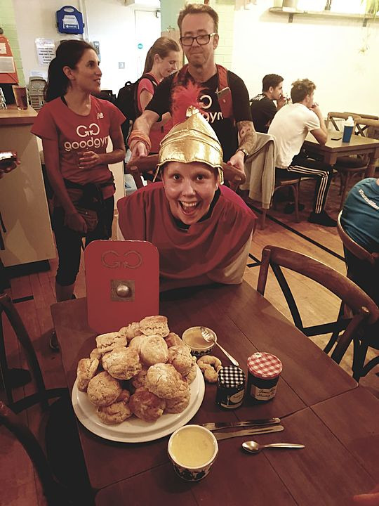 Centurion Alice and the Games of Scones