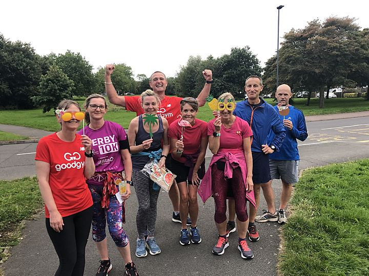 GoodGym vs BadGym; GoodGym flyer'ed home with the win!