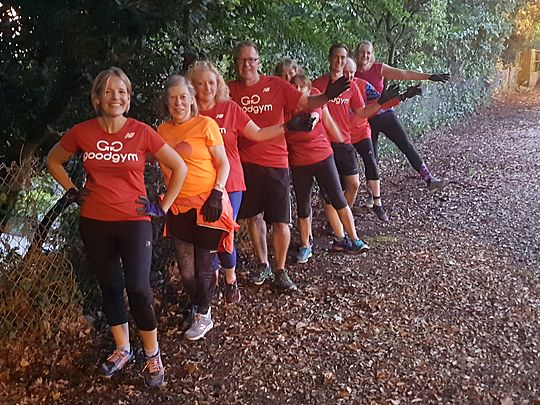 Goodgym and The Ivy!