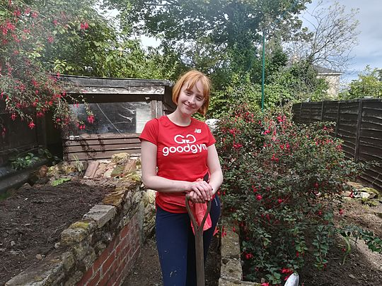 If fuscia-d go down to the garden today...