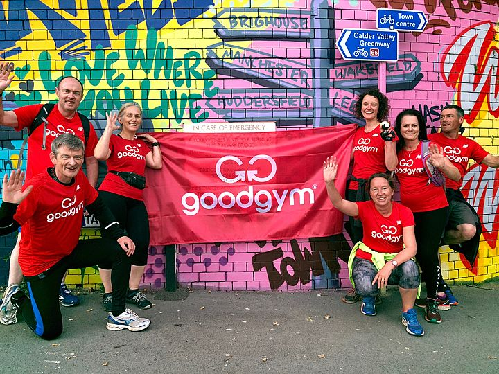 9 Little Deers Enjoy Mud, Sweat and Cheers to Celebrate 10 GoodGym Years