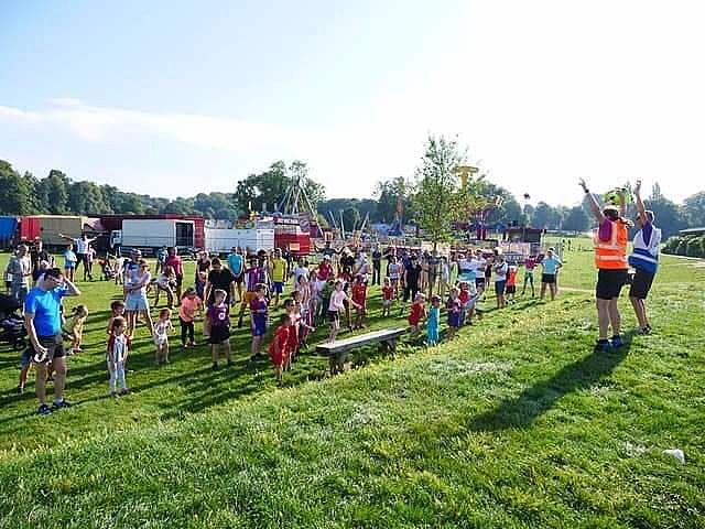Volunteering at Lloyd Park junior parkrun